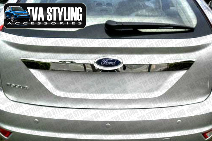 ford focus chrome rear boot grab handle cover trim 2008 2011 cover only. Cars Review. Best American Auto & Cars Review