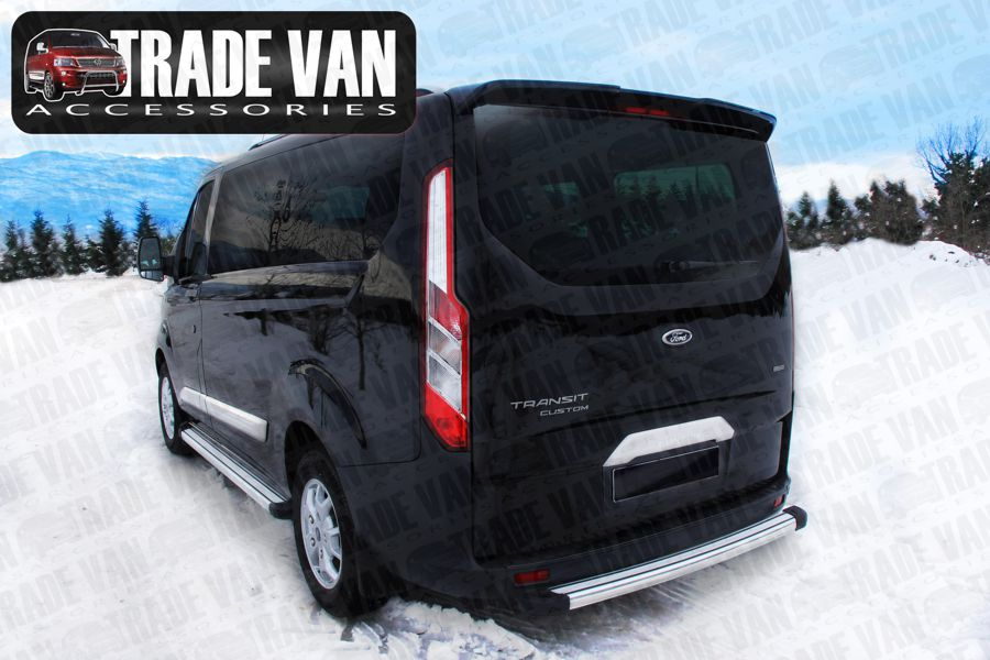 Ford Transit Custom Rear Spoiler Twin Doors Barn Doors