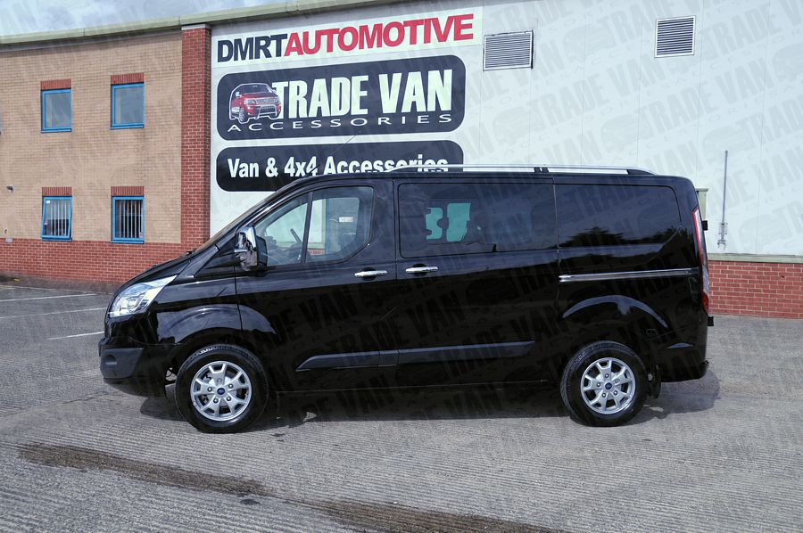 Our Sahara Roof Rack Rails For Ford Transit Custom Vans Really Upgrade The Van Style