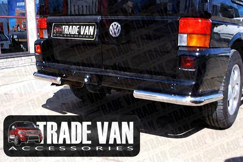 vw t4 rear bar corners t4 transporter rear corner bars. Black Bedroom Furniture Sets. Home Design Ideas